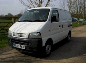 The base van - Suzuki Carry 1.3